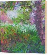 Garden Of Joy Wood Print