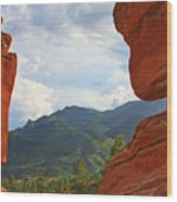 Garden Of The Gods - Colorado Springs Wood Print