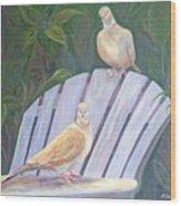 Garden Pals Wood Print