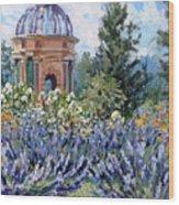 Garden Profusion - Lavendar Wood Print