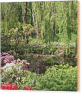 Garden Splendor Wood Print
