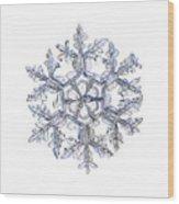 Gardener's Dream, White Version Wood Print
