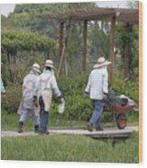 Gardeners Wood Print