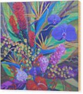 Gardner Tropicals Wood Print