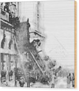 Gare Montparnasse 1895 Wood Print