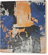 Gargoles In The Shadows Wood Print