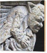 Gargoyle 4 Wood Print