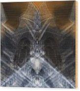 Gargoyle Priestess  Wood Print