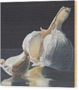 Garlic II Wood Print