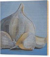 Garlic IIi Wood Print