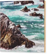 Garrapata Highlands 6 Wood Print