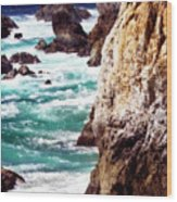 Garrapata Highlands 7 Wood Print