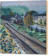 Garrison Station Wood Print