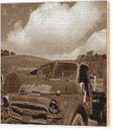 Garrod's Old Truck 2 Wood Print