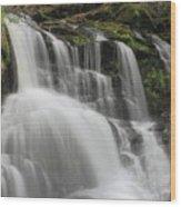 Garwin Falls Upper Cascade Wood Print