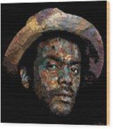 Gary Clark, Jr. No. 2 Wood Print