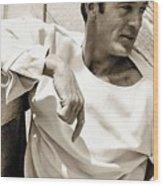 Gary Cooper Photo By George Hoyningen-huene 1934 Wood Print