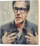 Gary Oldman  Wood Print