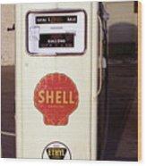 Gas Pump Wood Print