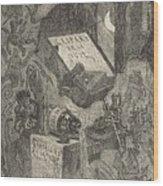 Gaspard De La Nuit Wood Print