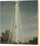 Gasparilla Fl Lighthouse Wood Print