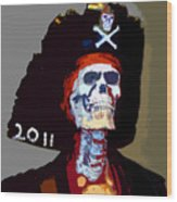 Gasparilla Pirate Fest Poster Wood Print