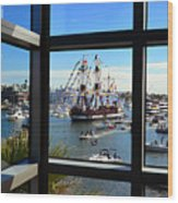 Gasparilla Through The Looking Glass Wood Print