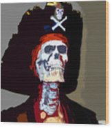 Gasparilla Work Number 5 Wood Print by David Lee Thompson