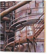 Gasworks Park Wood Print