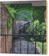 Gate And Arch Wood Print