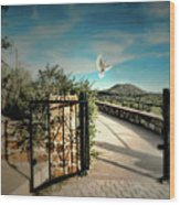 Gate To The Martyrs Wood Print