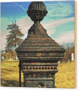 Gate Post Wood Print