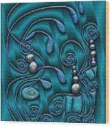 Gate To Atlantis Wood Print