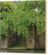 Gate To Cam Waters. Wood Print