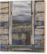 Gate To The Acropolis Wood Print