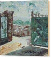 Gate2 Wood Print