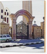 Gates Of Archangel Michael Cathedral Wood Print
