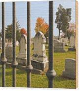 Gates Of Heaven Wood Print