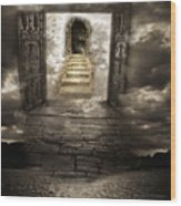 Gateway To Heaven Wood Print by Andy Frasheski