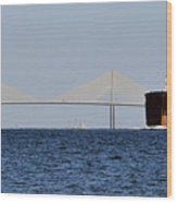 Gateway To Tampa Bay Wood Print by David Lee Thompson