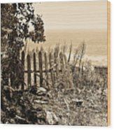 Gateway To The Mediterranean Wood Print