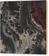 Mermaid Gathering Wood Print