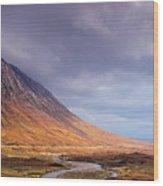 Gathering Storm Glencoe Wood Print