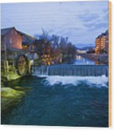 Gatlinburg Mill Wood Print