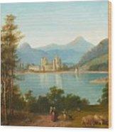 Gaudenz Von Rustige Wood Print