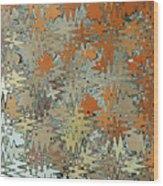Gaudi Mozaic Abstraction Wood Print