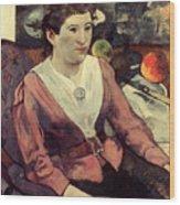 Gaugin: Marie Derrien, 1890 Wood Print