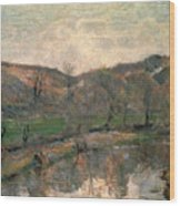 Gauguin: Brittany, 1888 Wood Print