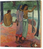 Gauguin: Call, 1902 Wood Print