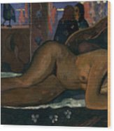 Gauguin: Nevermore, 1897 Wood Print